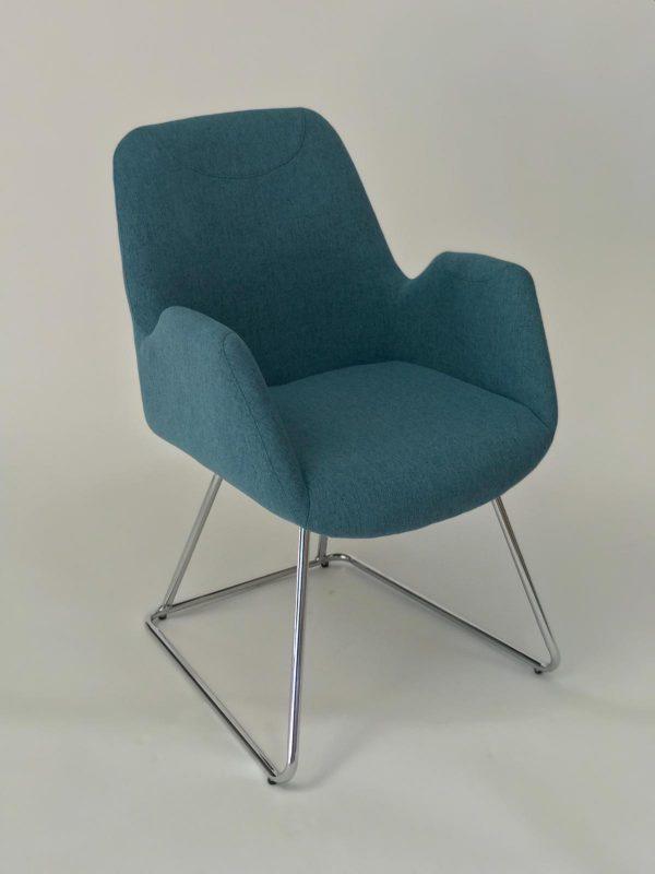 כסא המתנה טורקיז