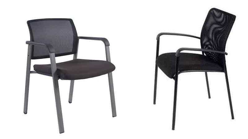 כסא עם ריפוד רשת