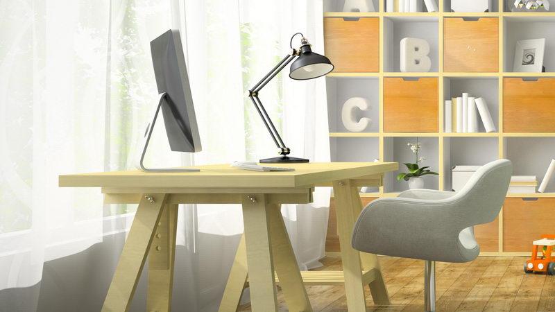 חדר עבודה בבית
