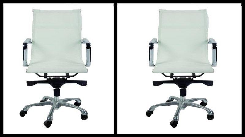 כסא לבן משרדי