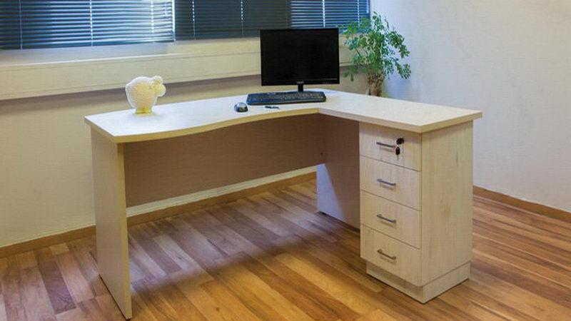 שולחן עבודה עץ מלא